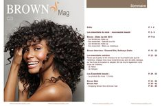 Cover et sommaire Brown mag n°1