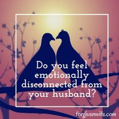 What does emotional disconnection look like to you?