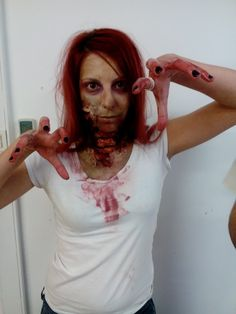 Zombie Girl for Zombie Thriller Athens