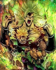 Dragon Ball Z - Super Broly Figure Style 1 Dragon Ball Gt, Dragon Ball Image, Photo Dragon, Gorillaz, Broly Ssj4, Anime Negra, Mega Anime, Goku And Vegeta, Deviantart
