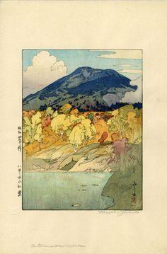 Hiroshi Yoshida - Autumn in Hakkosadan 1929