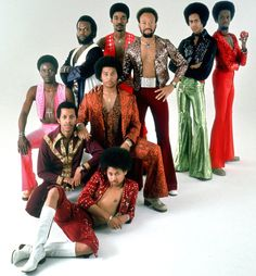 Earth, Wind & Fire.  I wish bands still dressed like this.  Will this look ever come back?