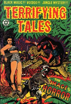 Comic Book Cover For Terrifying Tales v1 #12
