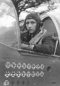 Stanisław Skalski - the top Polish fighter ace of WWII and the first Allied fighter ace of the war.