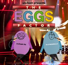 Get the 'EGGS' Factor this easter with our Egg Stressball! http://eepurl.com/RQf-1