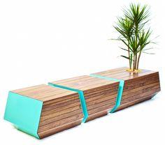 Boxcar Bench par Revolution Design House