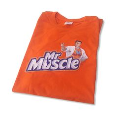 Mr Muscle branded t-shirt Mr Muscle, Branded T Shirts, Sweatshirts, Sweaters, Fashion, Gift, Moda, Fashion Styles, Trainers