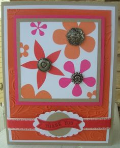 Thank You by calmag - Cards and Paper Crafts at Splitcoaststampers