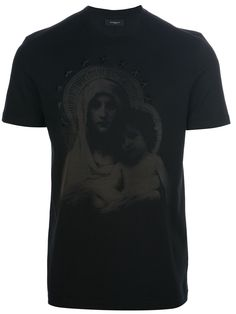 25aff17771d2a Givenchy - Black Madonna Icon Print Tshirt for Men - Lyst