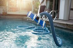 Don't know which pool hose is the best pool vacuum hose to buy? Take a look at our guide to know the best products plus our buying guide to narrow the choices. Swimming Pool Cost, Swimming Pool Maintenance, Swimming Pool Lights, Swimming Pool Designs, Pool Cleaning Service, Pool Service, Pool Cleaning Tips, Indoor Pools, Best Pool Vacuum