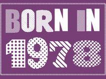 Einladung zum 40. Geburtstag: Born in 1978
