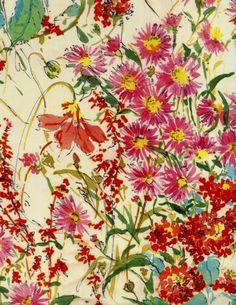 Floral garden.