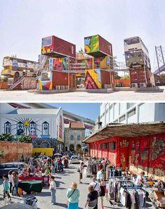 LX Factory (Market on Sunday) - Lisbon, Portugal