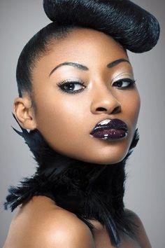Makeup by Elaine Harrison