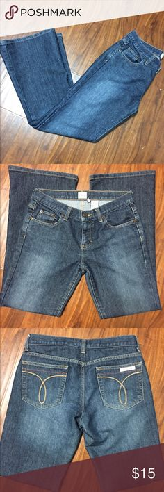"""Calvin Klein Jeans Like new Low rise flare, length is actually 29, waist is 15"""" Calvin Klein Jeans Jeans Flare & Wide Leg"""