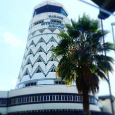 Harare Airport | Zimbabwe | photo Cathy O'Clery Round Building, Unusual Buildings, Dome House, Tree Trunks, African Design, Zimbabwe, Airports, The Republic, Modernism
