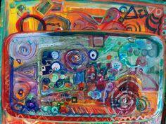 """My artwork in progress """"Wheels on the Bus"""" (960×720)"""