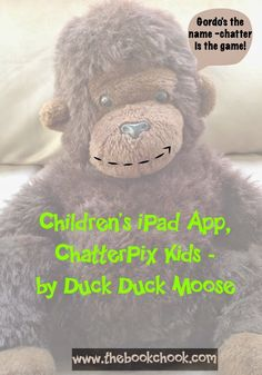 Children's iPad App, ChatterPix Kids - by Duck Duck Moose - great #app for kids to video themselves talking