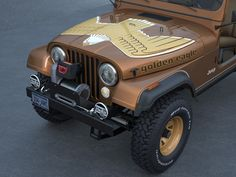 Jeep Cj 7 Golden Eagle Model available on Turbo Squid, the world's leading provider of digital models for visualization, films, television, and games. Cj Jeep, Jeep Cj7, Jeep Wrangler Yj, Jeep Golden Eagle, Jeep Brand, Vintage Jeep, Jeep Camping, Classic Car Insurance, Lifted Chevy Trucks