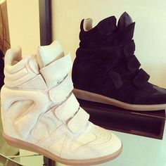 Beckett Isabel Marant Sneaker Suede Black  #isabelmarantdesignershoes