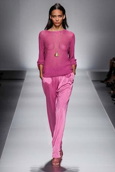 Blumarine- love the color i would add a bra and shell top though!!