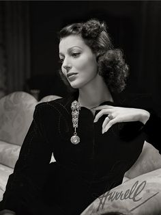 Loretta Young by George Hurrell
