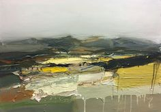 Chris Bushe - Exhibition of new work at ING Bank, London Landscape Sketch, Abstract Landscape Painting, Abstract Painters, Abstract Canvas, Landscape Art, Landscape Paintings, Art Sketchbook, Sketchbook Project, Abstract Images