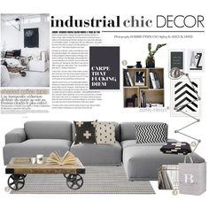 industrial chic decor