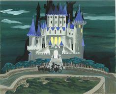 Mary Blair - Cinderella - Cinderella's castle | Flickr - Photo Sharing!