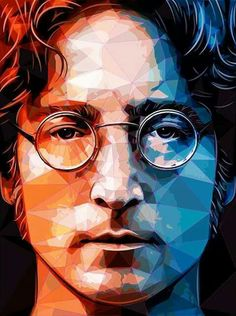 John Lennon. This belongs in musical artists as well but I am putting this into ART~ <3