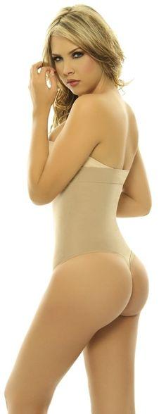 69baf2bf4cd19 Amazon.com   ShapEager Shapewear Lycra - Nylon Body Braless Strapless Thong  type corset Waist   Shapewear Bodysuits   Baby