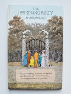 The Dwindling Party by Edward Gorey (A Pop-Up Book from Random House) de CulturalHeritage en Etsy https://www.etsy.com/es/listing/249431145/the-dwindling-party-by-edward-gorey-a
