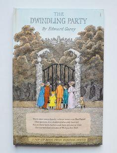The Dwindling Party by Edward Gorey (A Pop-Up Book from Random House) de CulturalHeritage en Etsy https://www.etsy.com/es/listing/249431145/the-dwindling-party-by-edward-gorey-a