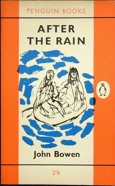 Design by Hans Schmoller. Main Series No.: 1,634  Title: AFTER THE RAIN  Author: John Bowen  Cover illustration: drawing by Quentin Blake  Type: Fiction  Date Published: 28 September 1961  Pages: 144pp.  Printer: C. Nicholls and Co Ltd  Price: 2/6d.