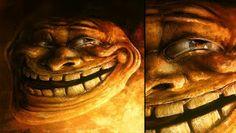 Sam Spratt Trollface