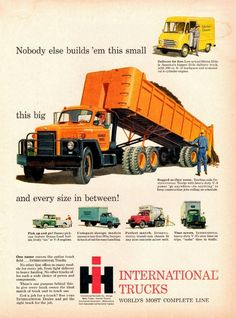 1959 International Trucks Ad