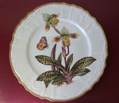 Anna Weatherley Orchid #5 OR5 Dinner Plate Brand New