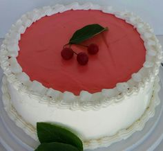 This cake is so delicious and full of flavor that even kids who are very picky eaters with dessert will love it and devour every crumb of it. Kids especially love the cherry creamy texture of the top layer of the cake. Lake Cake, Picky Eaters, How To Make Cake, Frosting, Cake Recipes, Cherry, Favorite Recipes, Dinner, Cooking