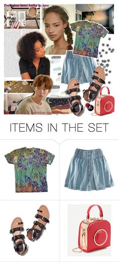 """""""getting on with things"""" by elliewriter ❤ liked on Polyvore featuring art, kitchen and elliewriterblogstory"""