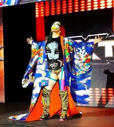 Asuka (aka Japanese Kana) NEW WWE/NXT Champion...2016.