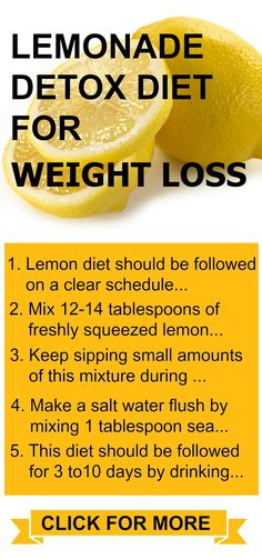 The Lemonade Diet, also known as the master cleanse, is a diet resulting in rapid weight loss over a period of several days to about a week. #totalbodytransformation