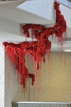 Tanja Smeets VBCN Textile Sculpture, Textile Fiber Art, Textile Artists, Soft Sculpture, Modern Art, Contemporary Art, A Level Art, Installation Art, Art Inspo