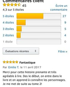 Un nouveau commentaire 5 étoiles sur Amazon pour Zephyr  Profitez en la promos à 199 continue sur le format numerique  http://ift.tt/2nR9b90