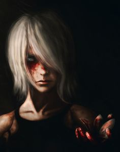 24 y/o gay asshole. Character Inspiration, Character Art, Character Design, Riven Lol, Nier Automata A2, A2 Nier, Beautiful Dark Art, Ghost In The Machine, Horror Art