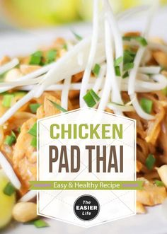 Chicken Pad Thai  Keto Friendly Recipe When I was a carboholic there was a place called Jackys Galaxie in Bristol Rhode Island where I got my fix for chicken pad thai at least three times per week for lunch It came with soup and salad healthy right and I always got a side of