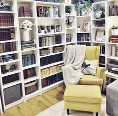 "A reading nook is a perfect place for a little ""me time."" And the requirements for that little nook is a whole lot of beauty."