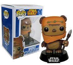 Funko POP Star Wars Wicket Bobble Figure