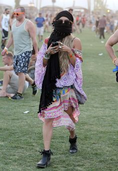 Vanessa Hudgens Coachella 2014 - Best and worst of Coachella fashion