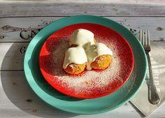 ANDI GLUTÉNMENTES KONYHÁJA: TÚRÓGOMBÓC Eggs, Pudding, Breakfast, Desserts, Food, Morning Coffee, Meal, Egg, Custard Pudding