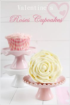 Valentine's Rose Cupcakes   The Art of Cupcakes